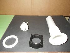 *RV BATHROOM SINK DRAIN WHITE PLASTIC