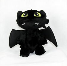 How to Train Your Dragon Plush Toothless Night Fury Soft Toy Doll Gifts 7""