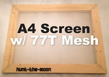 MEGA DEAL! A4 Screen Printing Frame with upgraded mesh- 77T for the price of 43T