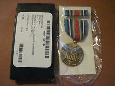 US GLOBAL WAR ON TERRORISM EXPEDITIONARY MEDAL MIP new  BOXED with RIBBON BAR