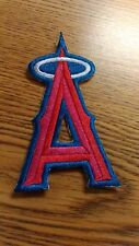 """MLB ANGELS A 4""""X 2"""" IRON ON PATCH NICE !"""