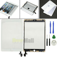 Black/White Glass Touch Screen Digitizer+IC Connector fr iPad Mini 3 A1599 A1600