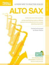 Playing with Scales: Alto Sax Book Audio Online NEW 014043140