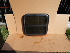"""RV Trailer Window, 24""""X22""""X1"""", W/Screens & Rings, Factory Take Out, Tinted, #655"""