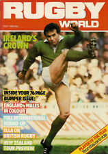 RUGBY WORLD MAGAZINE MAY 1985 - PERFECT GIFT FOR A FAN BORN IN THIS MONTH