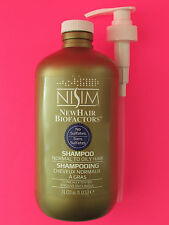Nisim ANTI Hair Loss Shampoo (1L/33oz) (Normal-Oily Type) FAST FREE USA SHIPPING