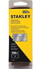 STANLEY 11-515a single edge Raschietto LAME/LAMETTE - 100 confezione NUOVO con confezione