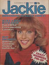 Jackie Magazine 19 January 1980 No. 837    David Essex   Madness   Merton Parkas