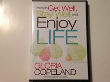 How to Get Well, Stay Well, and Enjoy Life by Gloria Copeland (DVD, 2-Disc Set)