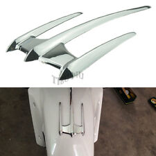 Chrome Fairing Trunk Lid Accents ABS Plastic for Honda Goldwing GL1800 2001-2011