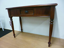 New Solid Mahogany 1 Drawer Hall Console Table *Branded Furniture*