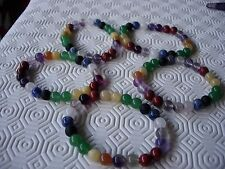 chakra bracelet gemstones 100% natural   x 5 wholesale £2 each wow!