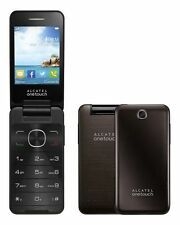 Alcatel One Touch 2012g Dark Chocolate Scuro BROWN OT 2012 senza SIM-lock NUOVO