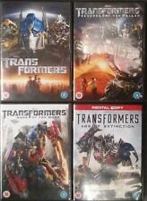 TRANSFORMERS QUADRILOGY 1,2,3,4 Michael Bay*Shia LeBouf  Sci-Fi Action DVD *EXC*