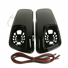 Saddlebag Lids Speaker Cutouts For Harley Touring Electra Street Glide 2014-2017