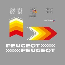 Peugeot Aneto Bicycle Frame Stickers - Decals - Transfers - n.500