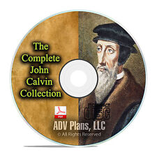 John Calvin Complete Bible Commentary, Old and New Testament, Bible Study CD F23