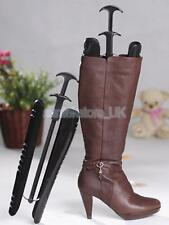 Quality Plastic Ladies Boot Shoe Tree Stretcher Shaper Keeper Support W/ Handle