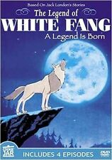 Legend of White Fang - A Legend is Born (Slimline DVD, 2006) BRAND NEW