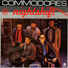 COMMODORES - Nightshift (Special Remix) MAXI 45 TOURS - 1985 - Maxi-Single - 12""