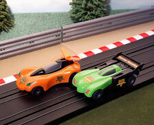 Micro Scalextric Pair Of 1:64 Cars - Terror Hawks
