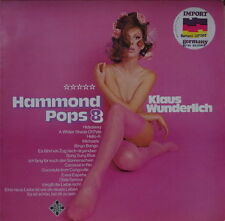 KLAUS WUNDERLICH HAMMOND POP 8 SEXY CHEESECAKE GERMAN PRESS LP