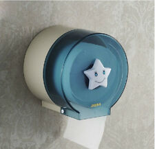NEW Cute Bathroom Waterproof Toilet Roll Paper Holder ABS Plastic Paper Box Rack
