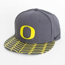 Nike Oregon Ducks Pack Hat Gray & Yellow Wings True Snapback Limited Edition New