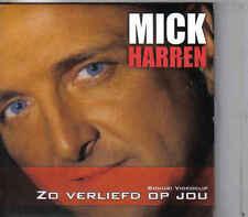 Mick Harren-Zo Verliefd Op Jou cd single