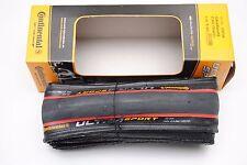 Copertoncino CONTINENTAL UltraSport 2 700x23c Pieghevole Black/Red