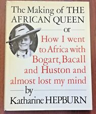 The Making of The African Queen by Katherine Hepburn - Hardcover Vintage s#6147