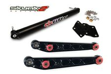 SKUNK2 Lower Control Arm Alpha+Bar Phi Fifty Black 96-00 Honda Civic EK