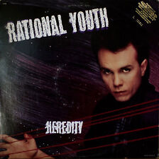 RATIONAL YOUTH: Heredity-M1985LP EMBOSSED COVER PROMO SYNTH-POP