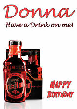 tru TRUE BLOOD Sookie Bill Eric Vampire Birthday PERSONALISED Greeting Art Card