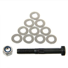 Wade's Extruder Hobbed Bolt with M8 lock nut washers for 3D Drucker