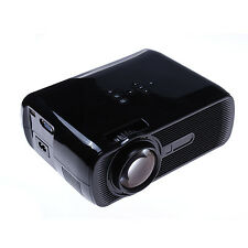 3000 Lumens 3LED LCD Projector HD Home Theater Multimedia HDMI//VGA/AV/3D 2016