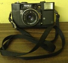 VTG KONICA C35AF 38 mm HEXANON AUTOFOCUS CAMERA UNTESTED