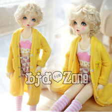 New Pure manual clothes 1/3  Bjd Doll Small yellow chicken yellow Long coat