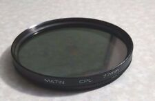 77mm CPL PL-CIR Filter For Nikon 10-24mm DX AF-S Lens Polarizing Polariser 77 mm