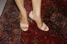 STEVE MADDEN DRNKNLUV FAW PATENT OPEN-TOE PUMP SIZE 9