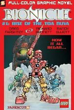 Bionicle #1: Rise of the Toa Nuva (Bionicle Graphic Novels)-ExLibrary
