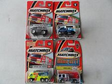 MATCHBOX FIRE/POLICE  SET OF 4 EMERGENCY RESCUE SET FP02 #38