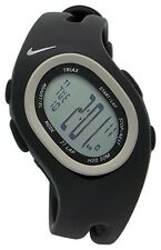 Nike Triax S 27 Regular WR0065 001 Black Sterling Sport Fitness Runners Watch