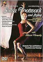SALSA DANCE FOOTWORK & STYLING - DVD - Region Free
