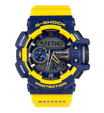Casio G-SHOCK GA400-9B Big Case Yellow & Blue Resin Analog Digital Men's Watch