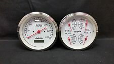 "White Gauge 5 "" quad set with programmable speedo"