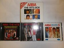 ABBA THE HITS BOX 3-CD BOX SET/WATRLOO/DANCING QUEEN/S.O.S./THE WINNER TAKES ALL