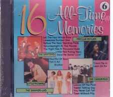 16 All Times memories Freddie fender The Drifters Yardbirds Cd Sealed Sigillato