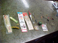Vintage some rare lot of fishing lures lure Eagle Claw wolf fang bobbers berkley