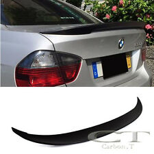 Unapinted For BMW E90 Sedan High Kick Performance Style Trunk Boot Spoiler 05-11